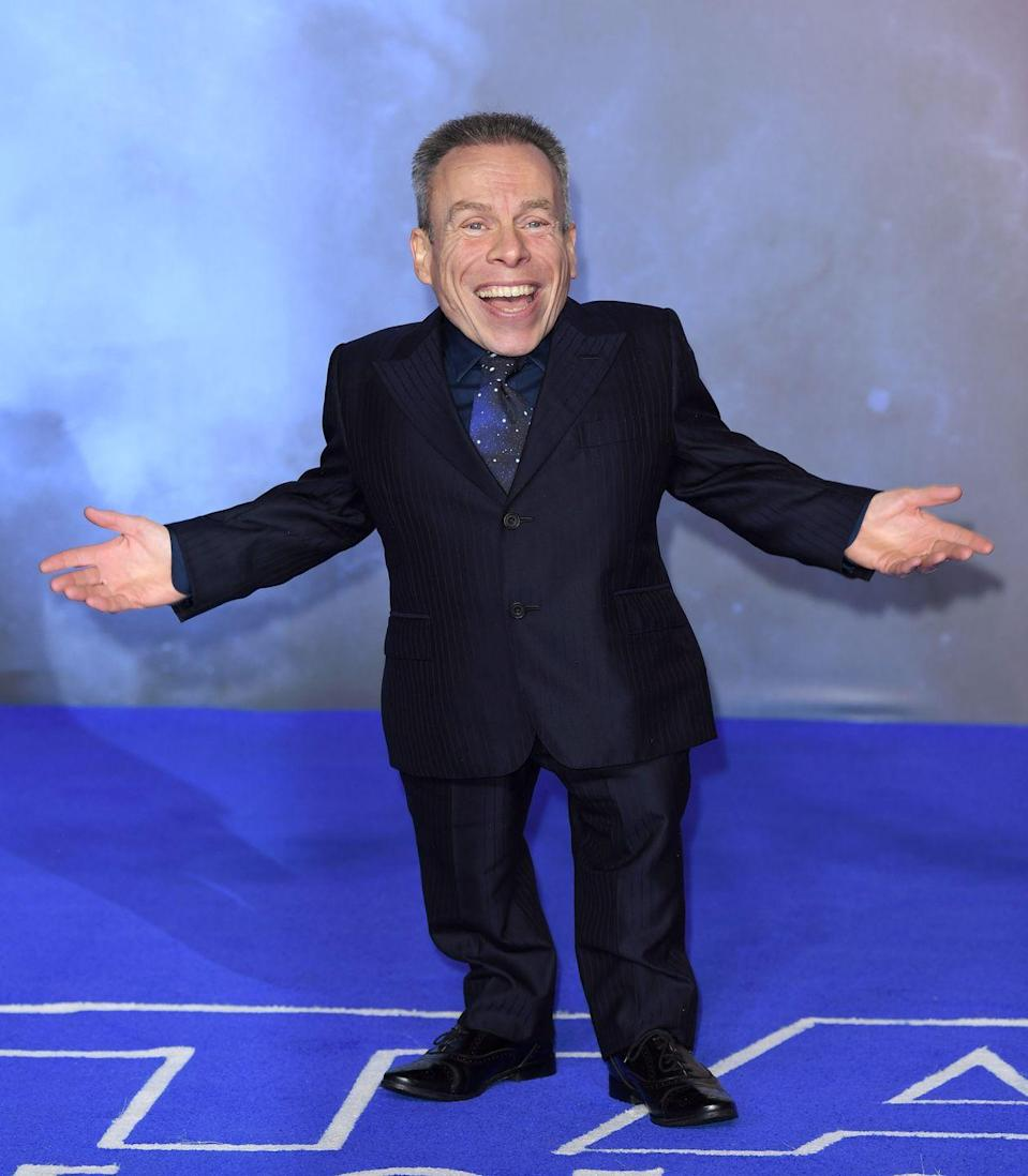 <p>In addition to his turn as Wicket, '80s kids will recognize Davis from <em>Willow</em> and the <em>Leprechaun</em> movies. But the younger generations will know him as Professor Flitwick in the <em>Harry Potter</em> films. </p>