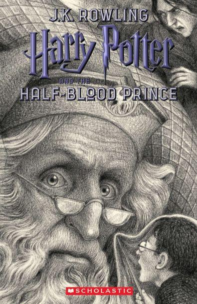 PHOTO: Scholastic's new book cover for 'Harry Potter and the Half-Blood Prince,' featuring art by Brian Selznick, is pictured here. (Brian Selznick (c) 2018 by Scholastic Inc.)