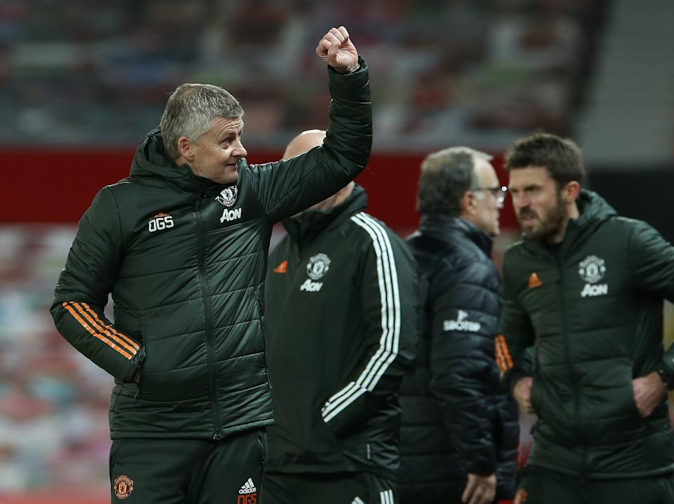 <p>Solskjaer is determined to convert another semi-final appearance into a trophy</p>Getty