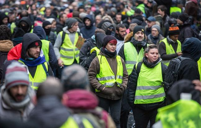 Environ 1 300 Gilets jaunes dans le centre-ville, quelques incidents — Lille