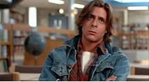 <p>Everyone will remember Judd Nelson's jean jacket in <em>The Breakfast Club</em>. Pretty soon after, everyone was dressing like the burnout by layering a jean jacket over their flannels. </p>