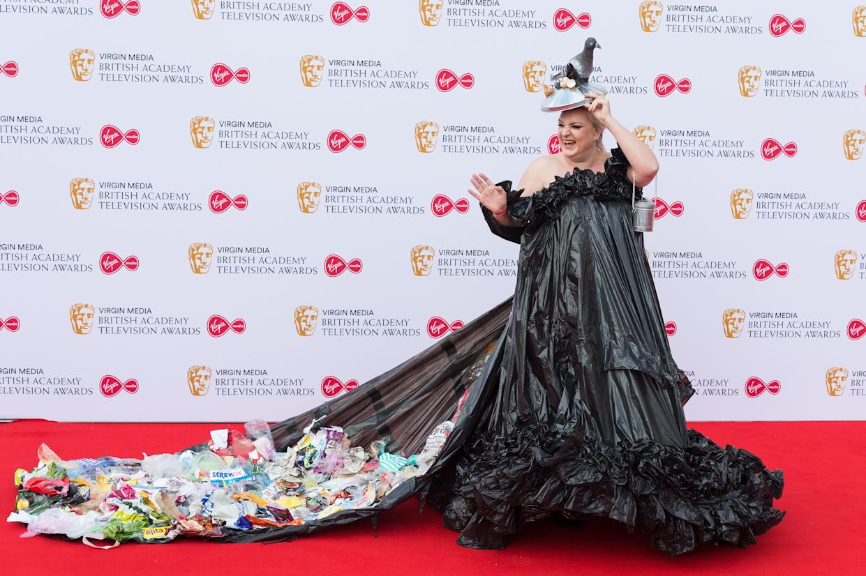 Daisy May Cooper attends the Virgin Media British Academy Television Awards ceremony at the Royal Festival Hall on 12 May, 2019 in London, England. (Photo by WIktor Szymanowicz/NurPhoto via Getty Images)