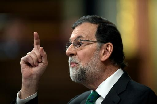 The Socialists filed the no-confidence motion against PM Mariano Rajoy last week after a court said it had uncovered a bribery scheme involving former officials of his party