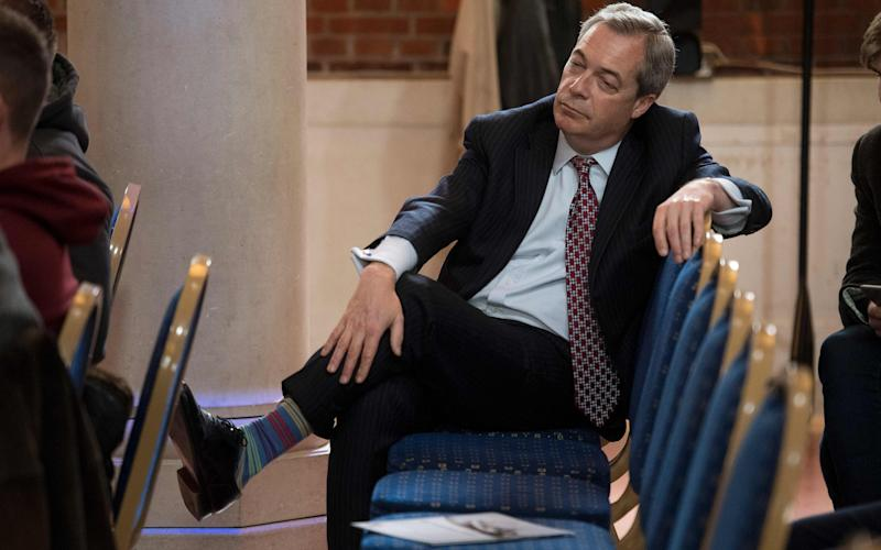 Former Ukip leader Nigel Farage - Credit: AFP