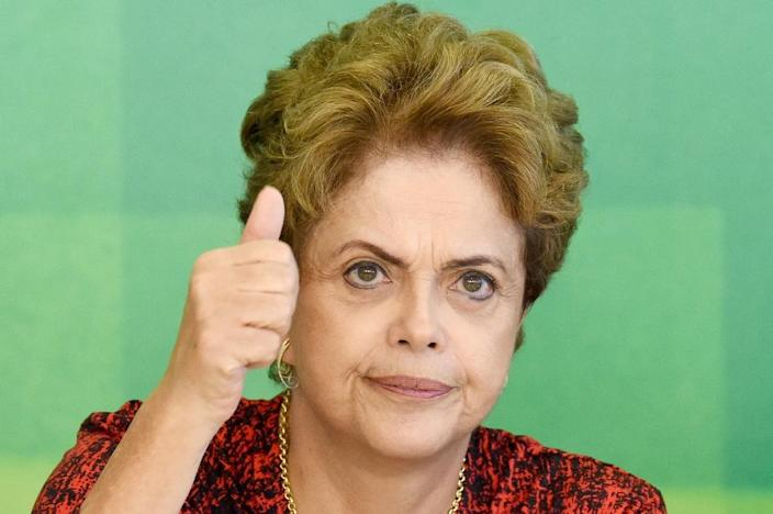 Brazil's Supreme Court has ruled that Congress must restart impeachment proceedings against Dilma Rousseff from scratch and overhauled the procedure, in a badly needed win for the embattled president (AFP Photo/Evaristo Sa)