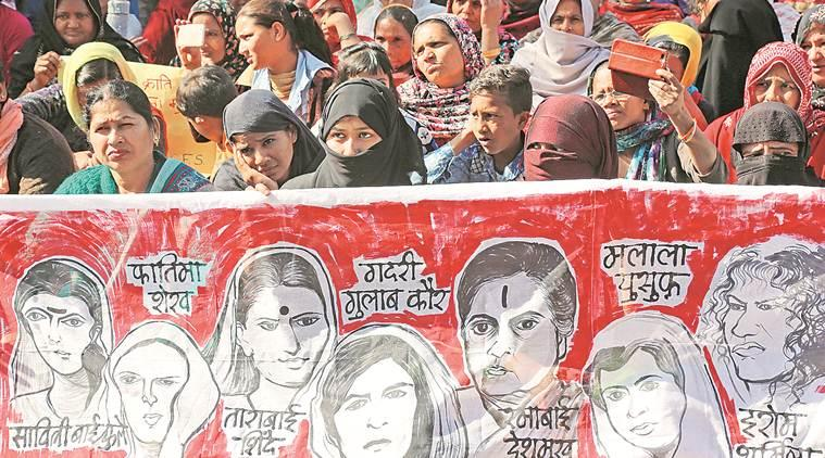 Women's Day, Shaheen Bagh protesters, CAA protest, citizenship amendment act, Chandigarh news, indian express news