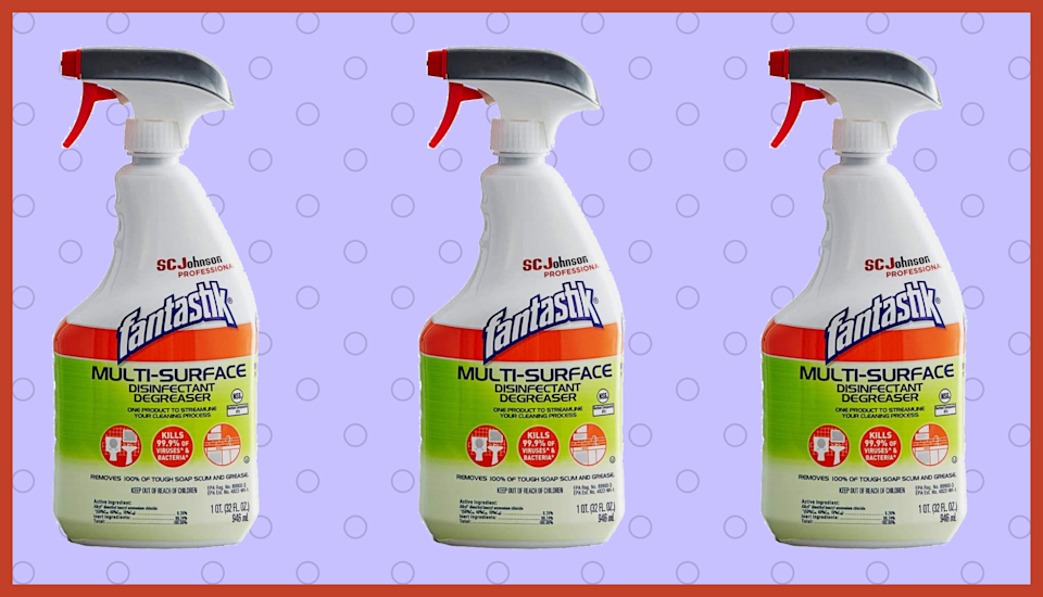 Fantastik Multi-Surface Disinfectant is available at Amazon. (Photo: Amazon)