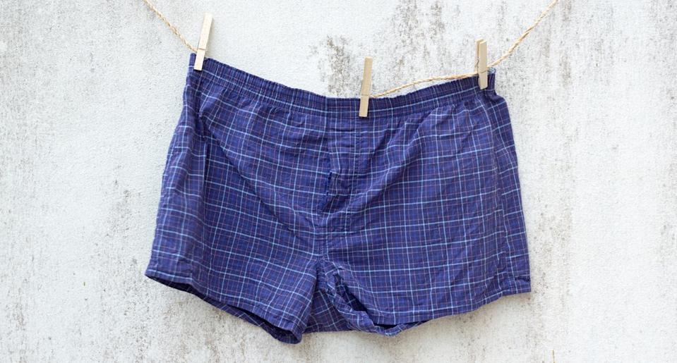 A new survey finds that 45 percent of Americans aren't wearing a new pair of underwear every day. (Photo: Getty Images)