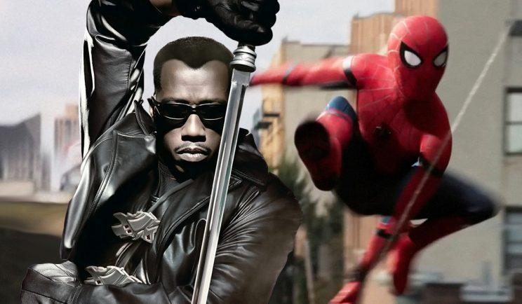 Could Blade be in the next Spider-Man movie? Credit: Marvel/Sony