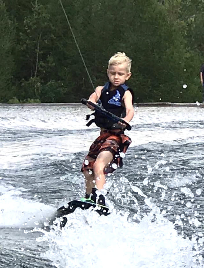 Andrew Brady, 9, loved being out on the water with his family. (Cassi Free / Cassi Free)