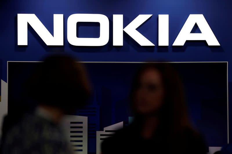 Nokia shares rise on report of possible mergers, assets sales