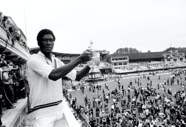 Joel Garner was England's nemesis in the 1979 World Cup final at Lord's (PA)