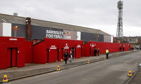 Soccer Football - Championship - Barnsley vs Fulham - Oakwell, Barnsley, Britain - January 27, 2018. General view outside the stadium before the match. Action Images/Craig Brough