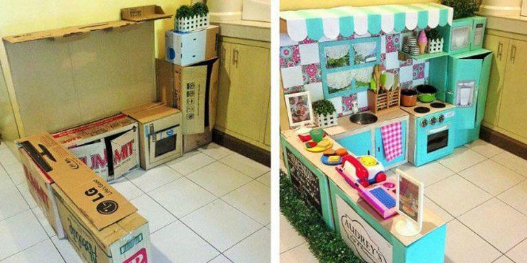 This Is The Most Impressive Diy Play Kitchen We Ve Ever Seen