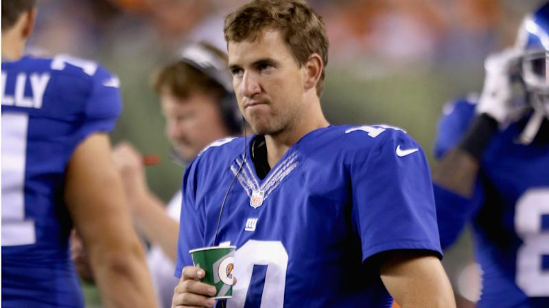 Eli Manning on memorabilia scandal: 'I've done nothing wrong'