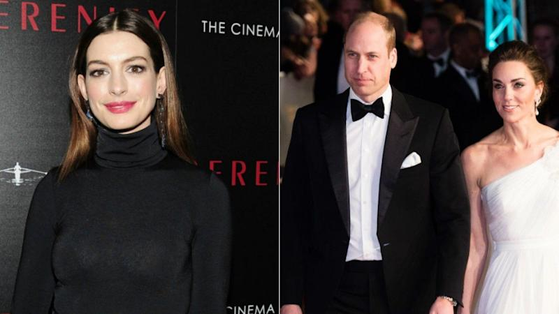 Anne Hathaway Took a Page Out of Prince William and Kate Middleton's Parenting Playbook