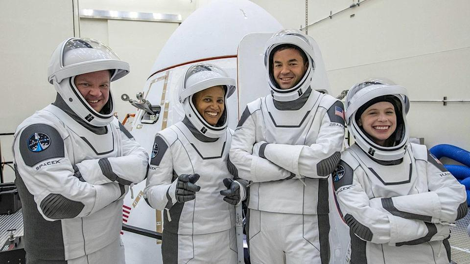 What is space merchandise? SpaceX mission carried souvenirs so that people can buy them when the ship returns to Earth