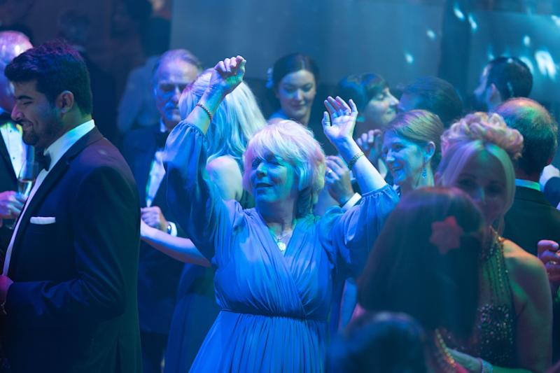 Alison Steadman starring in 'Life' as a woman who realises at her 70th birthday party that she doesn't love her husband any more (BBC/Drama Republic)