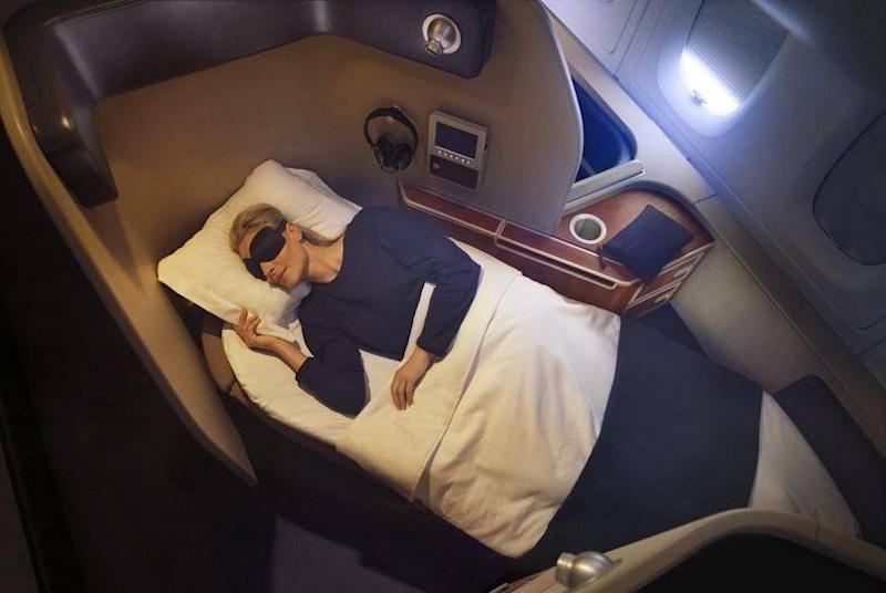 Qantas offers one of the longest beds in the sky (Qantas)