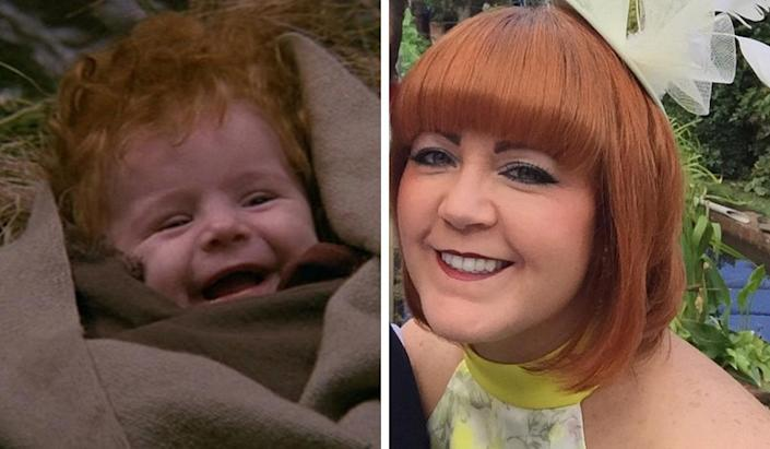 The Baby From Willow Then And Now