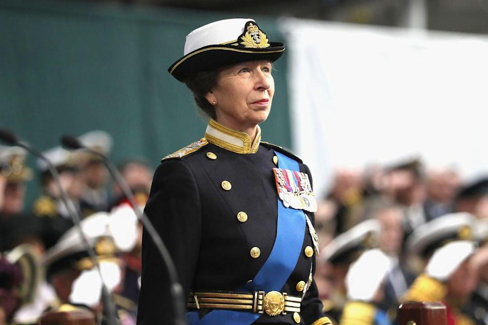 "<p>Princess Anne, known as the royal family's ""trustiest anchor,"" is next, having carried out over 20,000 engagements. She's the only daughter of the Queen and Prince Philip.</p>"