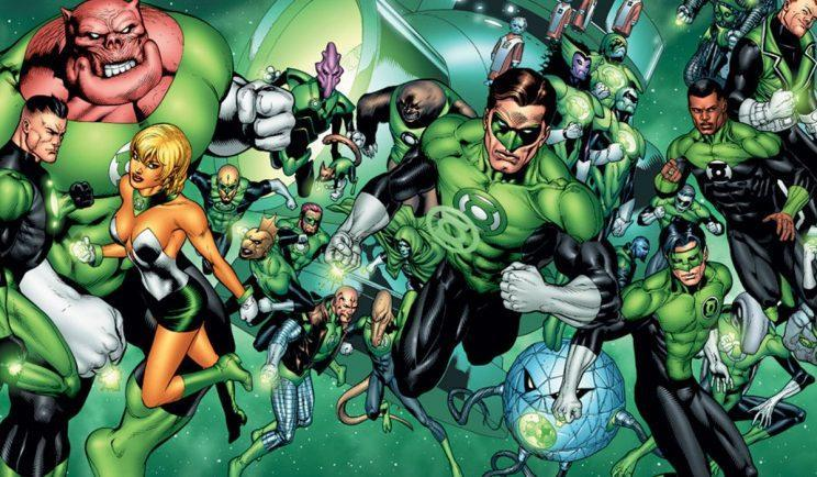 Will the whole Green Lantern Corps appear? - Credit: DC Entertainment