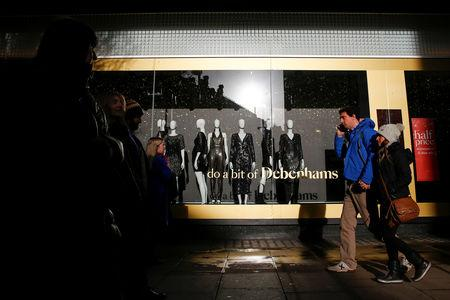 Debenhams warns restructuring could wipe out shareholders