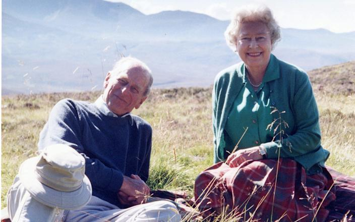 Duke of Edinburgh and Queen Elizabeth - The Countess of Wessex/PA
