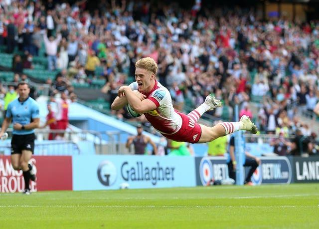 Louis Lynagh has been in try-scoring form for Harlequins