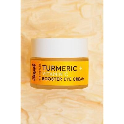 <p>The <span>Sweet Chef Turmeric + Vitamin C Booster Eye Cream</span> ($18) is rich in antioxidants that will protect your under eyes from environmental stressors. It's forumla is lightweight and makeup friendly.</p>