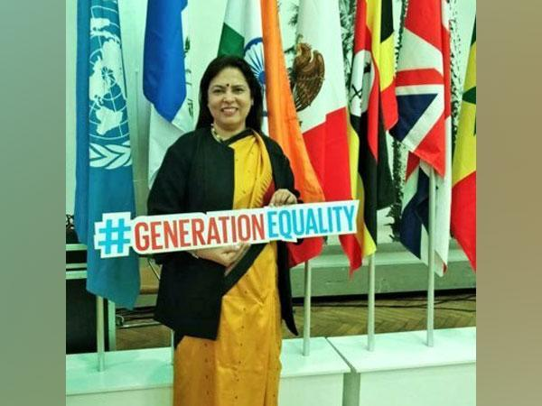 Union Minister of State for External Affair Meenakashi Lekhi (File pic)
