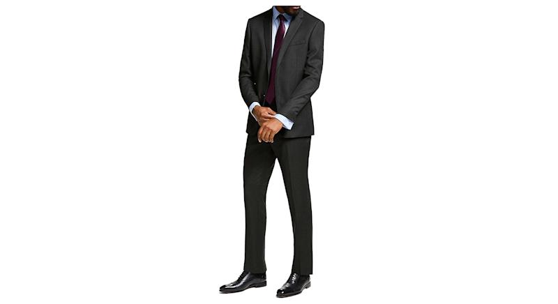 Birdseye Wool Suit