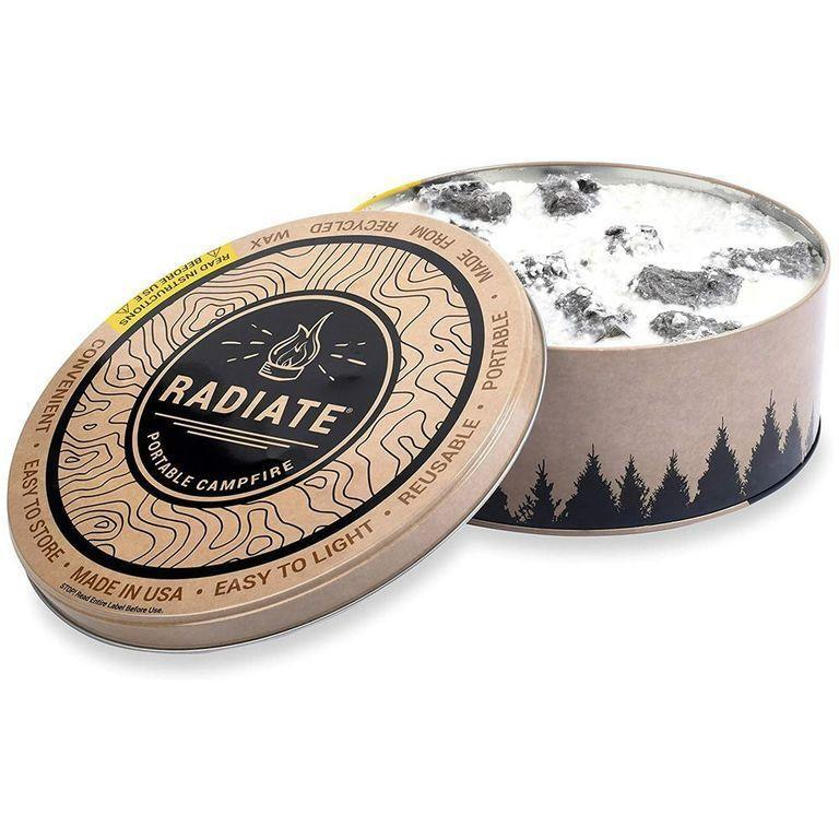 """<p>amazon.com</p><p><strong>$27.99</strong></p><p><a href=""""https://www.amazon.com/Radiate-Portable-Campfire-Pack-Made/dp/B073QXYW38/?tag=syn-yahoo-20&ascsubtag=%5Bartid%7C2164.g.36212544%5Bsrc%7Cyahoo-us"""" rel=""""nofollow noopener"""" target=""""_blank"""" data-ylk=""""slk:Shop Now"""" class=""""link rapid-noclick-resp"""">Shop Now</a></p><p>Cheers to s'mores whenever, wherever! With this portable campfire, it's possible.</p>"""