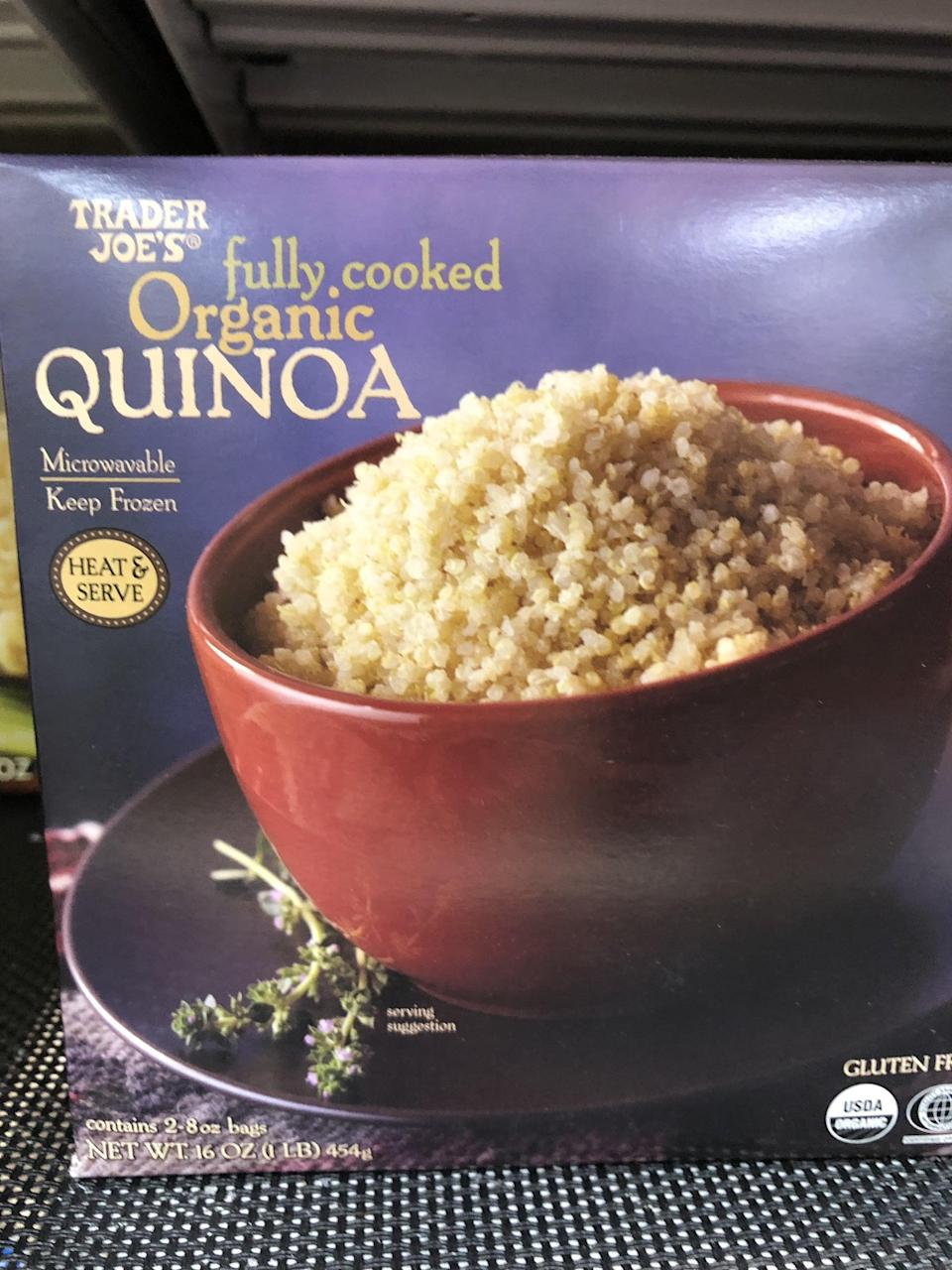 <p>Heat this quinoa up, and use it in place of oatmeal for a fruity, nutty, mapley breakfast.</p>