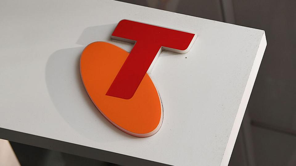 The Telstra logo. Source: AAP