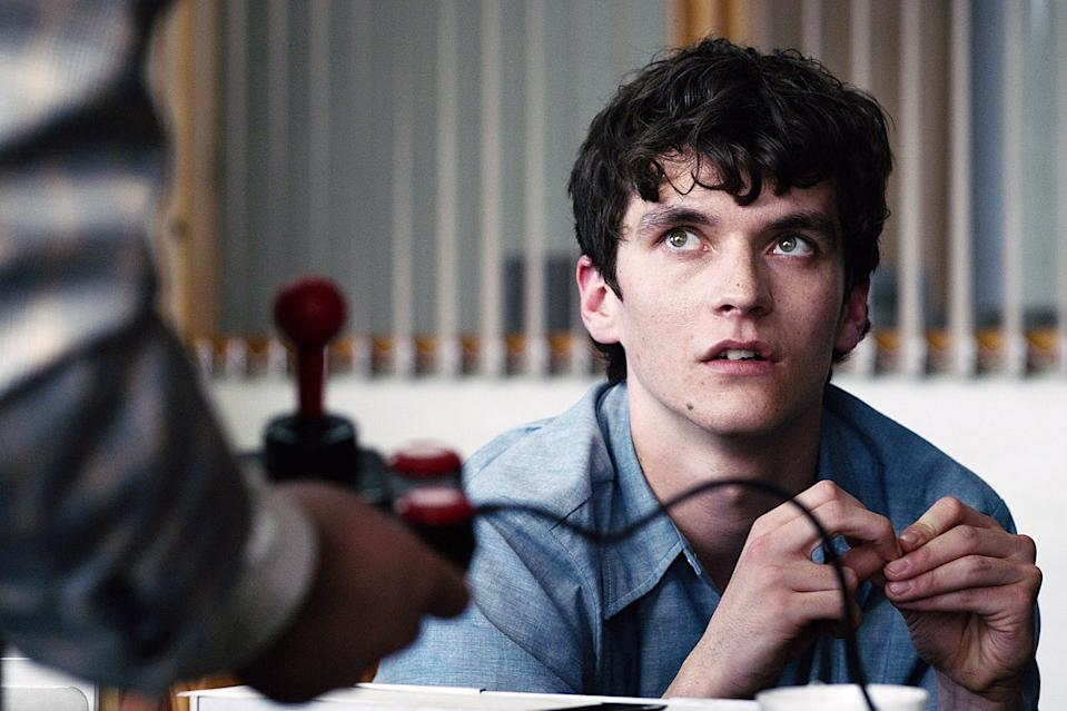 """<p>Dates who don't mind a more hands-on activity might have a lot of fun with the Emmy-nominated <a href=""""https://www.popsugar.com/entertainment/How-Does-Black-Mirror-Bandersnatch-Work-45633159"""" style=""""text-decoration-line"""" class=""""ga-track"""" data-ga-category=""""Related"""" data-ga-label=""""http://www.popsugar.com/entertainment/How-Does-Black-Mirror-Bandersnatch-Work-45633159"""" data-ga-action=""""In-Line Links"""">Black Mirror: Bandersnatch</a><strong>. </strong>Netflix's first interactive TV movie lets you control the fate of the apprehensive computer programmer Stefan as he turns a choose your own adventure fantasy novel into a video game. More to do with your hands means less awkward silences!</p> <p style=""""text-decoration-line""""><a href=""""http://www.netflix.com/title/80988062"""" target=""""_blank"""" class=""""ga-track"""" data-ga-category=""""Related"""" data-ga-label=""""http://www.netflix.com/title/80988062"""" data-ga-action=""""In-Line Links"""">Watch it now.</a></p>"""