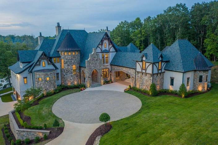 The 11,000-square-foot Grand Lac Chateau at 154 Tennessee Circle on Lake Norman in Mooresville went under contract after just four days on the market for nearly $8 million, according to Josh Tucker, managing broker for HM Properties'Lake Norman office. HM was the Realtor involved in the sale.