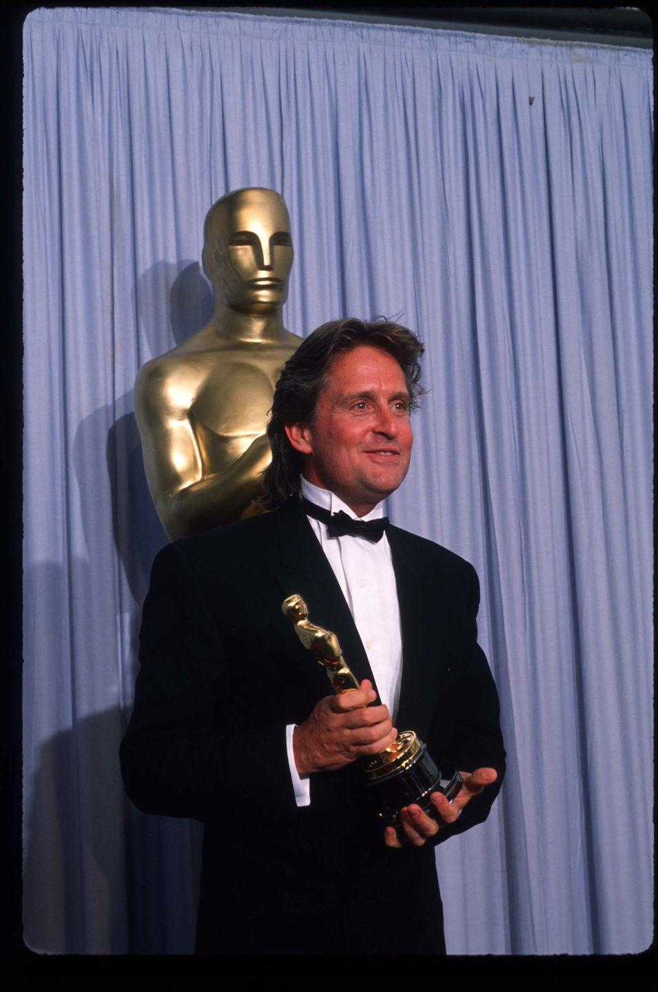 <p>The same year <em>Fatal Attraction </em>was released, Michael Douglas scooped up an Oscar for Best Actor in a Leading Role for his performance in <em>Wall Street</em>. A.k.a. the man had an incredible run circa 1987.</p>