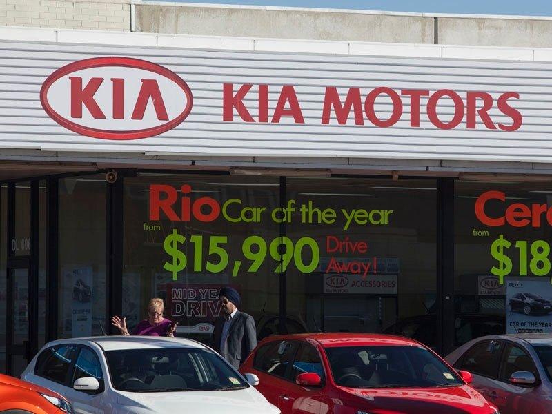 Kia Motors' 2Q profit falls short of expec