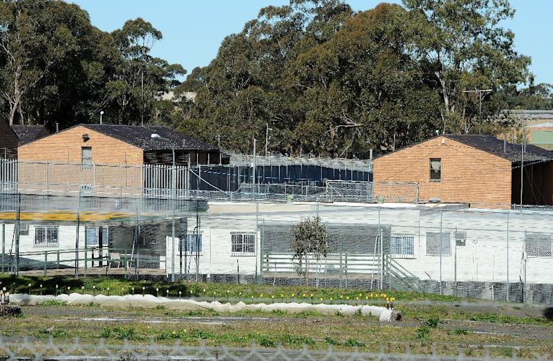 The average time for people being held in Australia's mainland detention facilities is at its highest level, 464 days, since records were kept from January 2012, according to immigration department figures (AFP Photo/Torsten Blackwood)