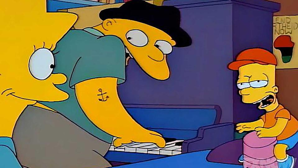So, was the Michael Jackson in The Simpsons?