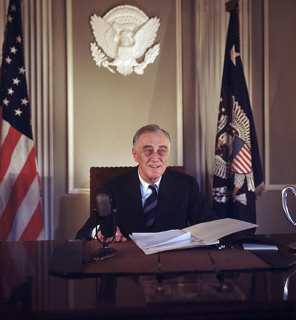 <p>The White House first became equipped with accessibility features like ramps and elevators when Franklin D. Roosevelt came into office, as he suffered from polio and used a wheelchair in private.</p>