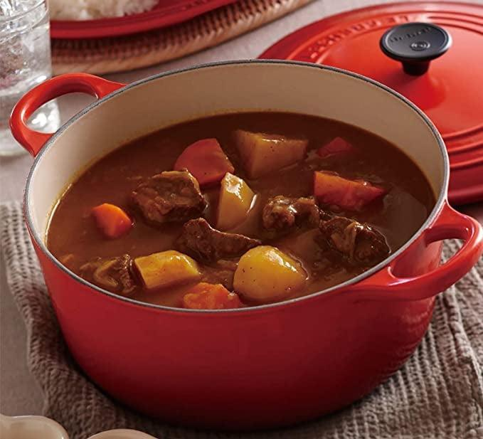 <p>You can't go wrong with the <span>Le Creuset Enameled Cast Iron Signature Round Dutch Oven, 5.5 qt</span> ($350).</p>