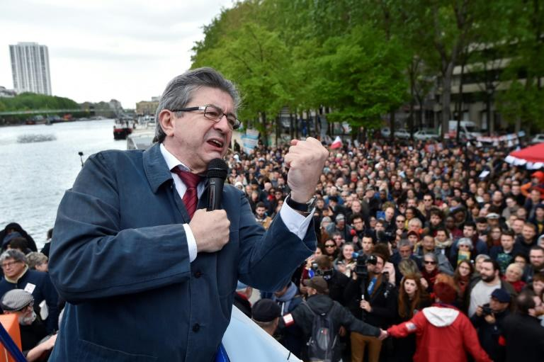 Jean-Luc Melenchon's calls for a fairer distribution of wealth and defence of the working class has struck a chord in Saint-Etienne