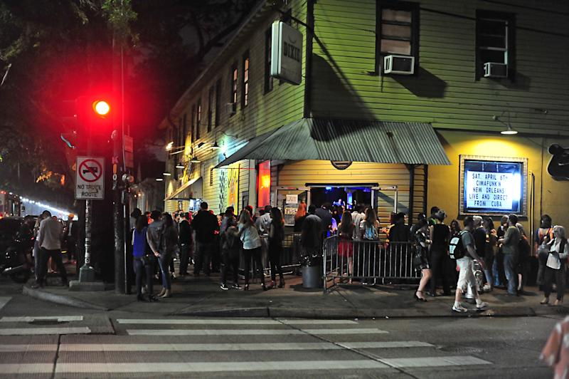 Tipitina's in New Orleans was hopping, pre-coronavirus. Now it is struggling, like many independent venues across the country.