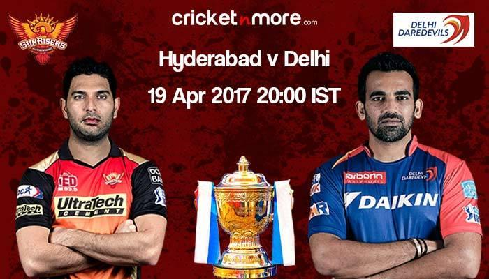 Hyderabad aim to make it four wins in a row at home against Delhi