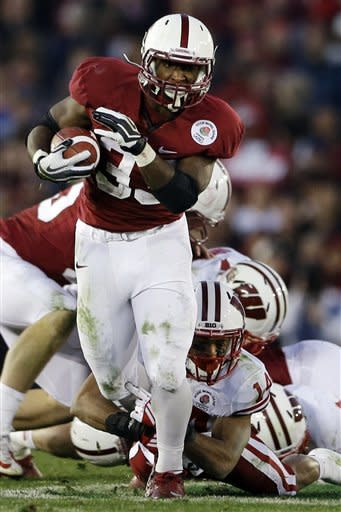 Stanford holds off Wisconsin 20-14 in Rose Bowl
