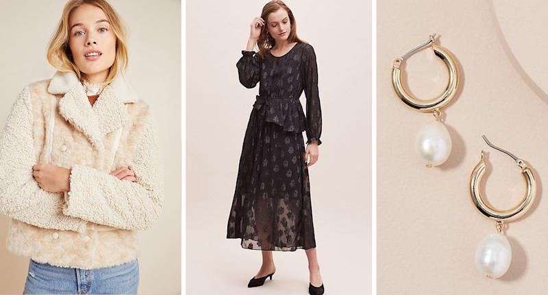 Here's how to get 20% off everything at Anthropologie right now. [Photos: Anthropologie]