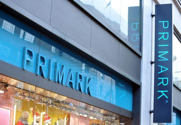 Primark has now removed the T-shirt from sale [Photo: PA Images]