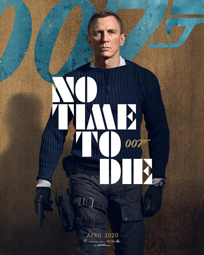Bond director gives fans sneak peek at No Time to Die